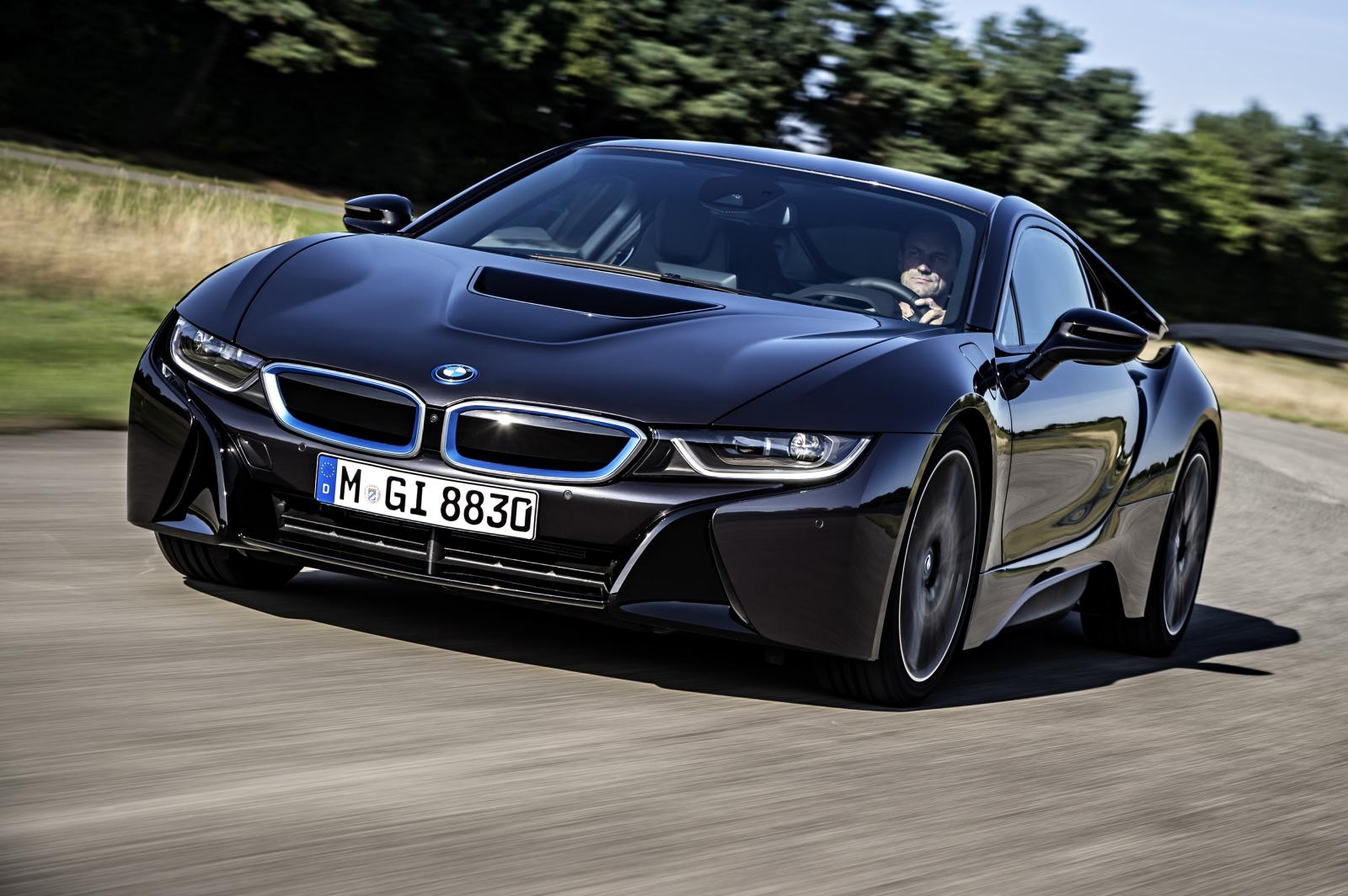 2014 BMW i8 specifications