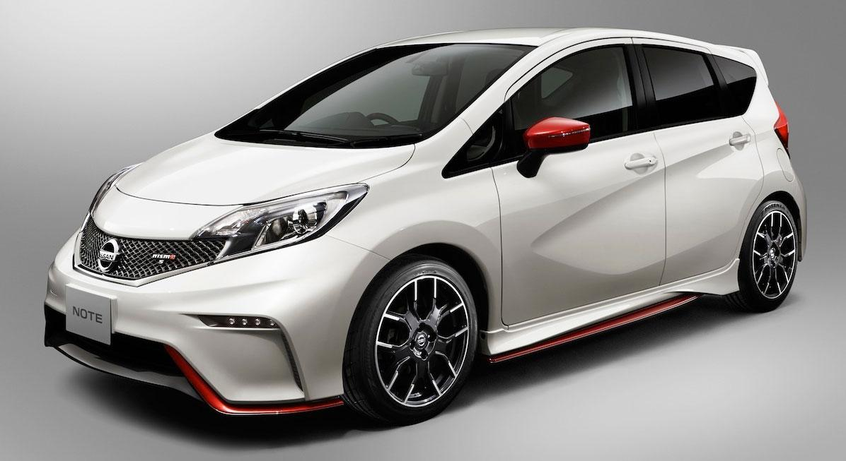 2017 Nissan Note Nismo Unveiled