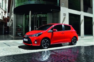 2015 Toyota Yaris facelift UK pricing