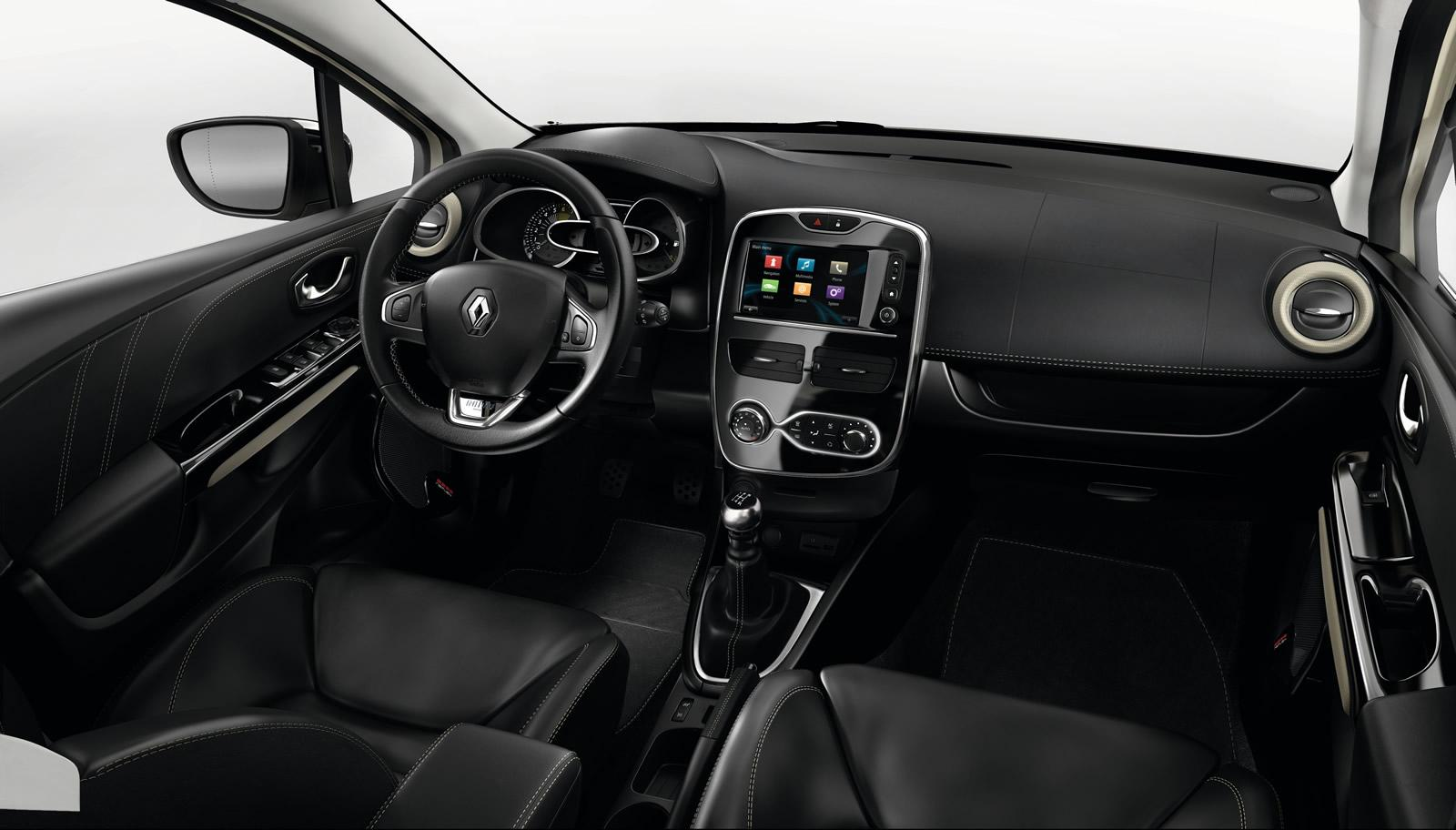 2015 renault clio initiale paris introduced autonews 1 for Interieur clio 4